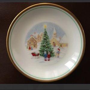 Vintage Mikasa Mini Christmas Plate With Box